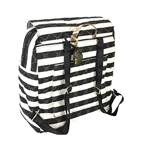 Luv Betsey Women's Willow Oversize Travel Cotton Backpack with Luggage Pass Through Stripe One Size by Luv Betsey (Image #1)