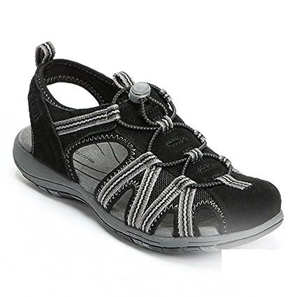 Croft & Barrow Damenschuhe Valley Sport Sandales, schwarz, Größe 1e756b