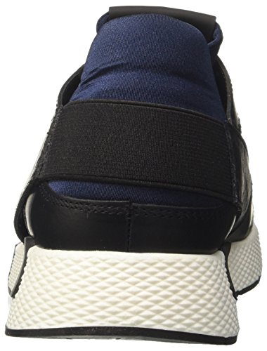 Cult Herren Lemmy Low 1488 Niedrige Sneaker Multicolore (Black/Blue)