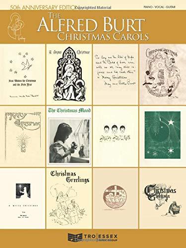 The Alfred Burt Christmas Carols: 50th Anniversary Edition (Christmas Piano Card Guys)