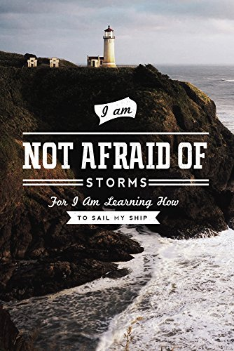 I am Not Afraid of Storms for I - Ship In Storm Art