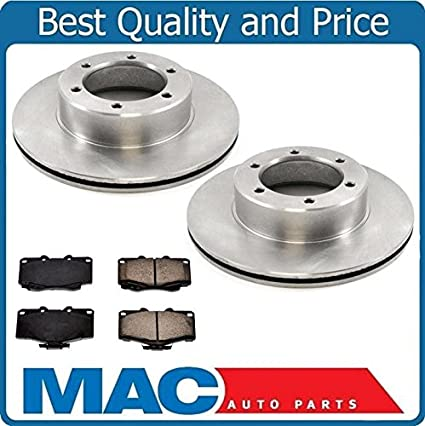 Brake Pads And Rotors Prices >> Amazon Com New Front Brake Rotors Brake Pads For Toyota Pickup