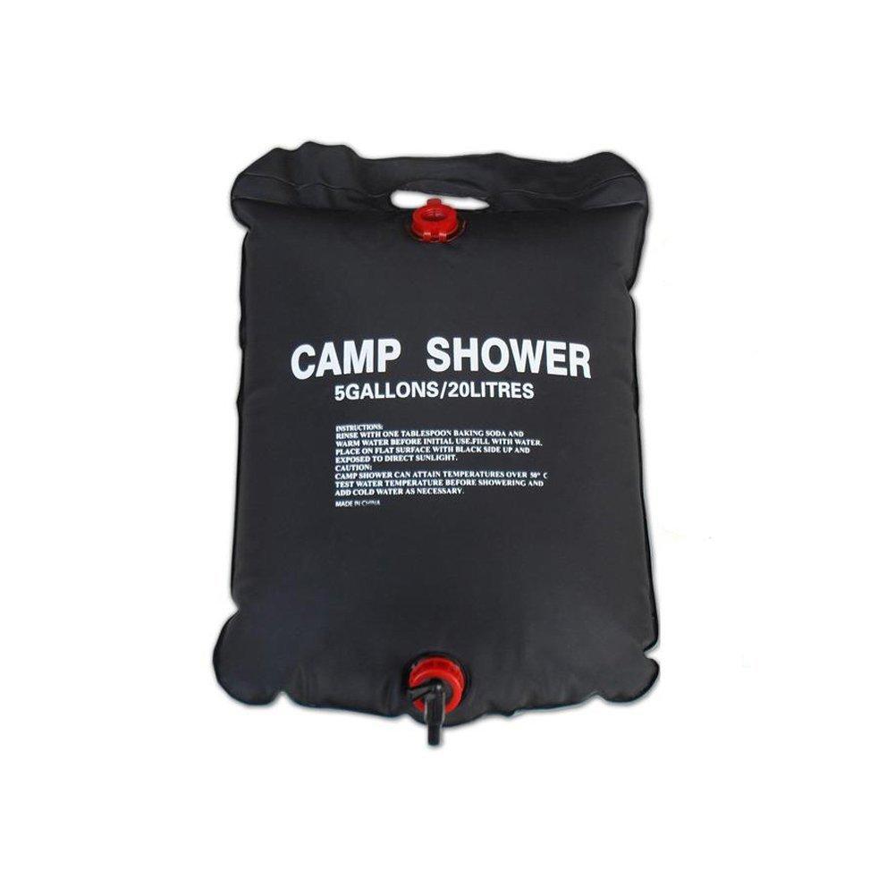 LCQI Ducha Port/átil Jard/ín Camping Bolsa Agua Caliente Solar Furgoneta Coche Caravana