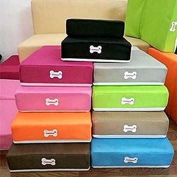 AAIND - Escalera plegable de malla transpirable para mascotas desmontable para escaleras de cama de perro