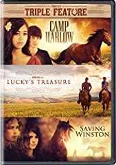 Camp Harlow: When Alex is unwillingly sent to camp, she plans to shut out the world to endure the summer. However, she is brought out of the corners of her own heart by the most unlikely of friends: a horse. Lucky's Treasure: When Emily and a...