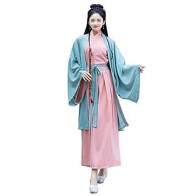 Traje De Cosplay para Mujer Hanfu - Vestido Tradicional ...