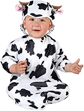 Desconocido Disfraz de vaca para bebé: Amazon.es: Juguetes y juegos