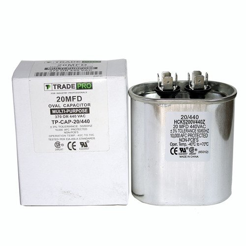 20 MFD Capacitor Replaces Both