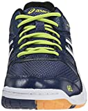ASICS Men's Gel-Rocket 7 Volleyball Shoe, Navy/White/Lime, 7 M US