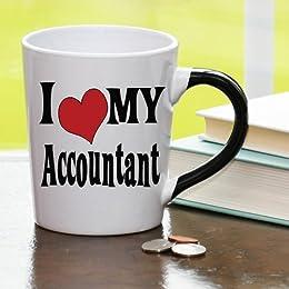 I Heart My Accountant Mug, Accountant Coffee Cup, Accountant Funny Mug, Accountant Gifts By Tumbleweed
