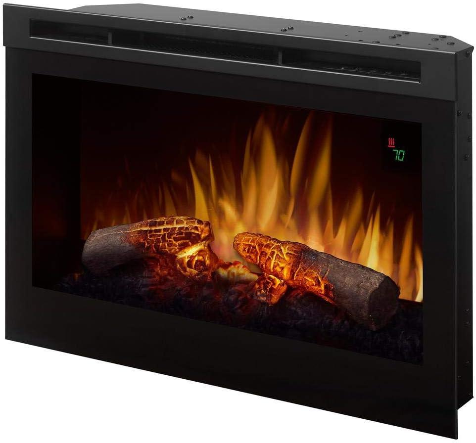 Dimplex Electric Fireplace, Black