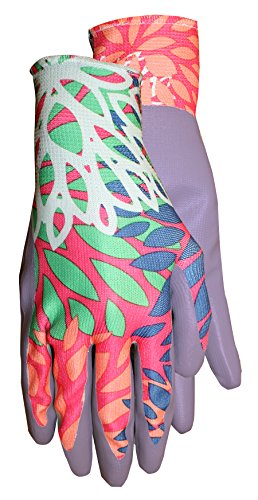 Midwest Gloves & Gear Grip-Mate Nitrile Dipped Knit Liner Glove, 67F6, Size: Large