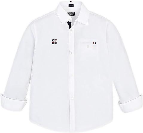 Mayoral 6133 - Camisa para niño (Talla L), Color Blanco: Amazon.es: Ropa y accesorios