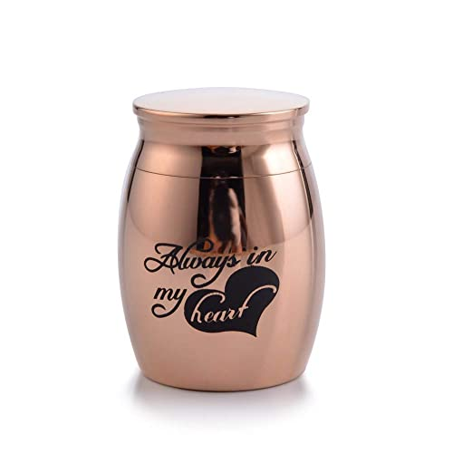 Amazon.com: Murinsart - Urnas decorativas pequeñas de acero ...
