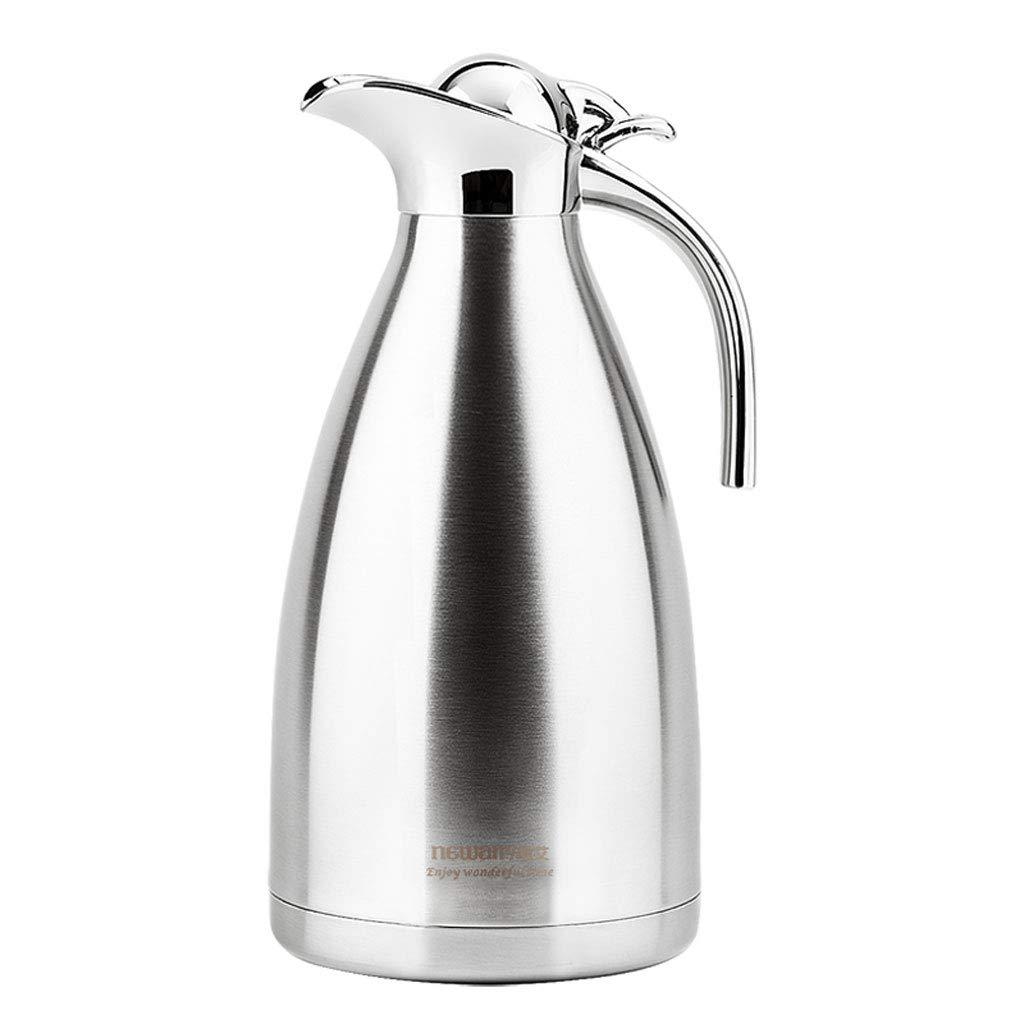 華麗 304ステンレス鋼はさみ金の絶縁材の水差しのコーヒー鍋、総本店のための容量2000ml (容量 : : 2000ml, 色 (容量 : B07MT7S6WW 原色) B07MT7S6WW, 八幡西区:5b037af6 --- a0267596.xsph.ru