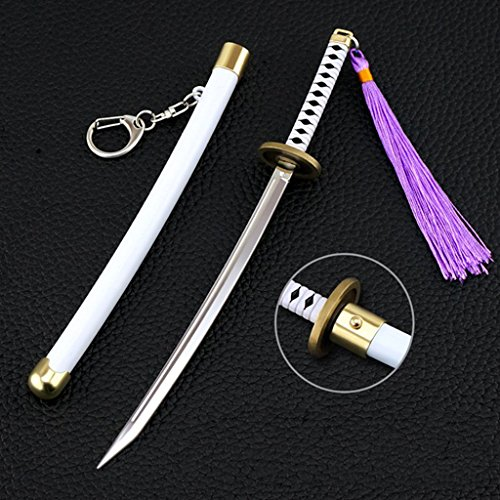22.4cm Roronoa Zoro Cosplay 1/5primavera espada Katana figura juguetes modelo juguetes colección elástica (w3265), do