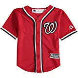 Majestic Bryce Harper Washington Nationals MLB Kids Red Alternate Cool Base Replica Jersey