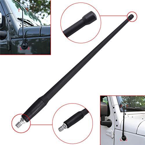 LanLan Accessori Auto 13Antenna Auto FM Antenna autoradio Amplificatore di Segnale per Jeep Wrangler JK