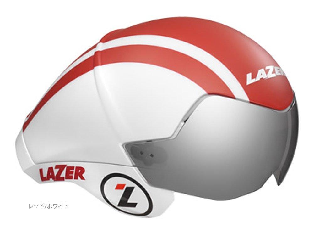 LAZER(レーザー) ワスプエアー レッド×ホワイト M/L HMT39603   B01B2KJJF8