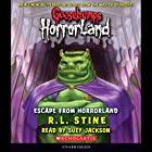 Escape from Horrorland: Goosebumps Horrorland #11 Audiobook by R. L. Stine Narrated by Suzy Jackson