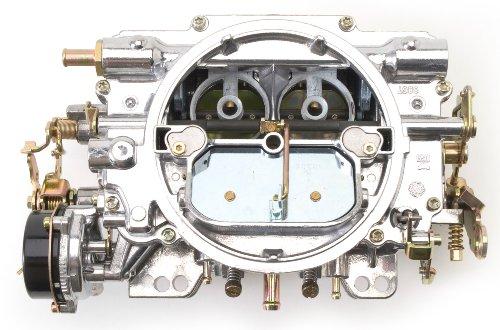 Edelbrock 1411 Performer 750 CFM Square Bore 4-Barrel Air Valve Secondary Electric Choke New Carburetor (Carburetor Calais)