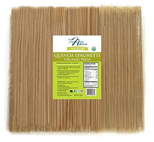 Tresomega Nutrition Organic Quinoa Spaghetti, 5-Pound by Tresomega Nutrition