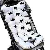Kul-Kul - Baby Trolley Cushion Cotton Thickening Baby Carriage Cart Trolley Seat Cushion Baby Stroller Soft Chair Mat