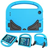 CZPU All New Fire 7 2017 Case, Kids Friendly Light Weight Cover Super Protective Case for All-New Fire 7 Tablet with Alexa(7th Generation - 2017 release) Blue
