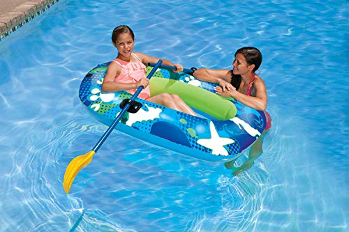 Poolmaster 87320 Swimming Pool and Lake Inflatable Boat, Deep Sea