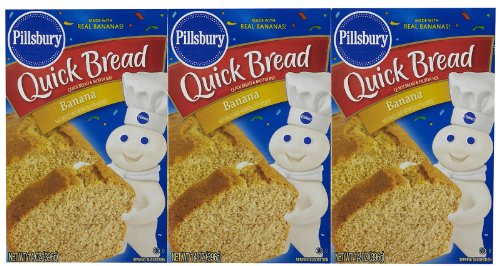 - Pillsbury Quick Bread Banana Mix - 14 oz - 3 pk