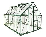 Palram Balance Hobby Greenhouse, 8' x 12', Green