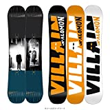 Salomon 2018 The Villain 155Wcm Mens Snowboard
