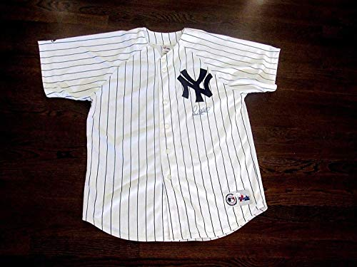 Paul O'Neill Wsc Yankees Outfielder Autographed Signed Auto Majestic Jersey Memorabilia JSA Authentic (Auto Oneill)