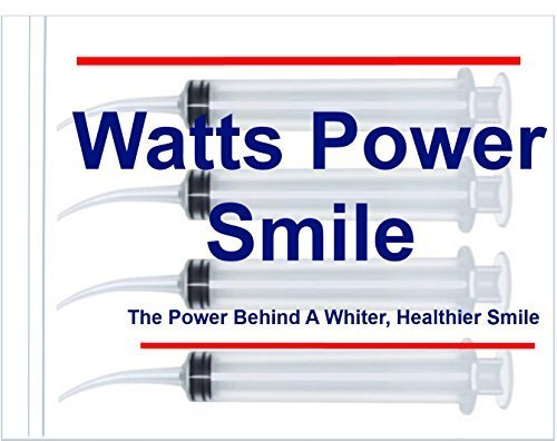 Watts   4 Large Syringe Oral Irrigators With Tapered Deep Reach Tips For Crowns  Bridges  Oral Pockets And More   10Ml By Direct 2U Wholesale Llc
