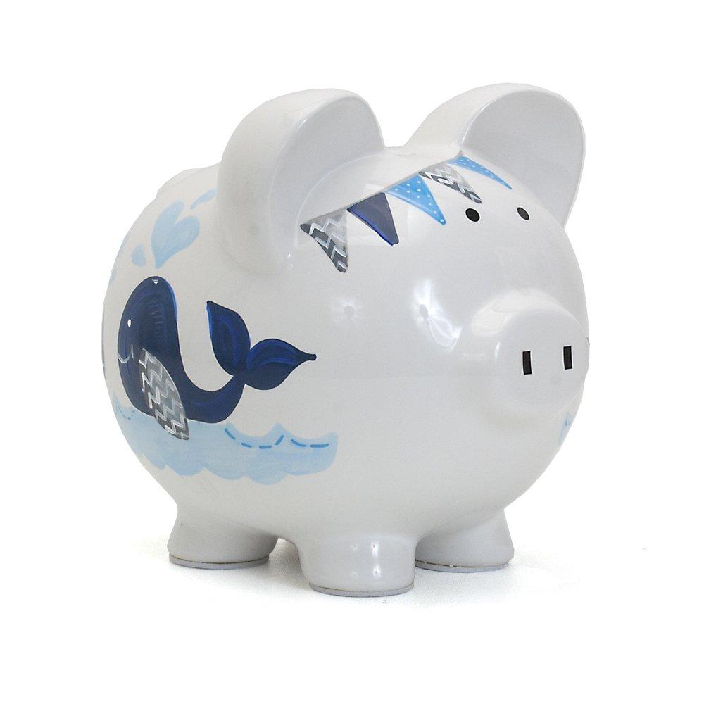 Child to Cherish Ceramic Piggy Bank for Boys, Sport 36822