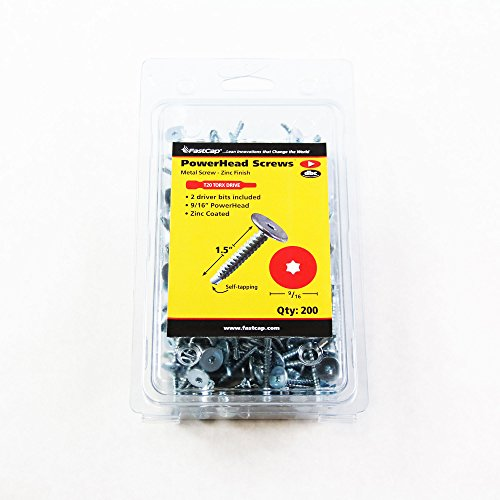 FastCap PowerHead Screws - 1.5