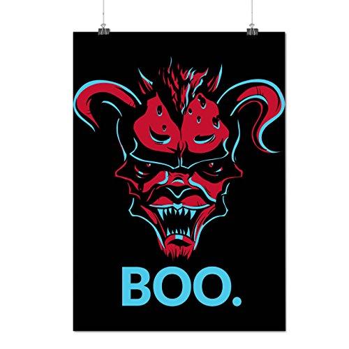 Devil Lair Scary Boo Satanic Matte/Glossy Poster A3 (12x17 inches) | (Run Devil Run Costume)