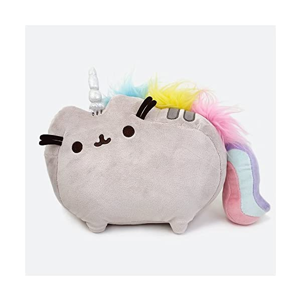 "GUND Pusheenicorn Plush Stuffed Animal Rainbow Unicorn, 13"" 4"