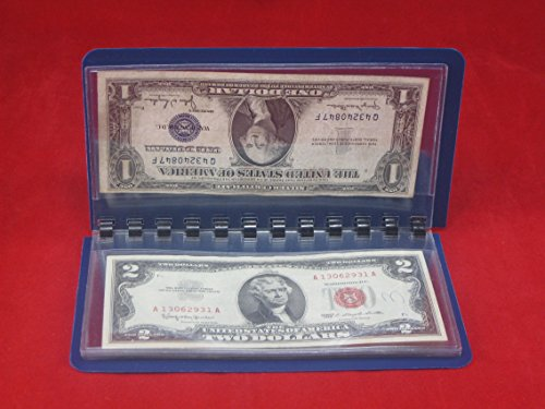 Whitman Currency Album Large – Banknote Wallet – By Harris