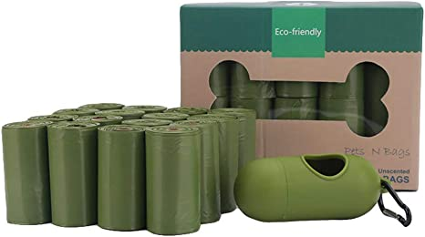 Easy Off Unscented Dog Waste Bags 16 Rolls//240 Bags Poop Bags Biodegradable