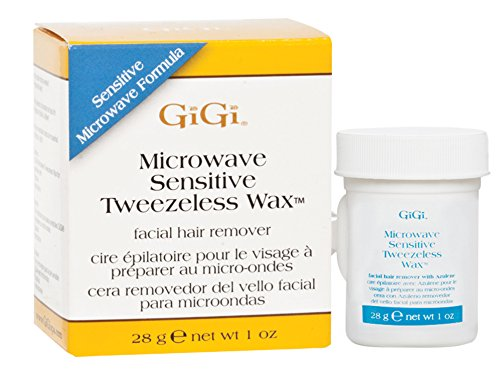 GiGi Microwave Tweezeless Wax, 1 Ounce