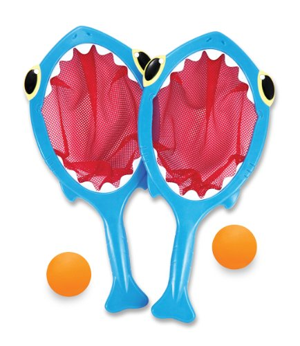 Spark Shark Toss and Catch Net Pool Game