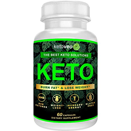 Keto Pills – Keto Weight Loss Supplement for Women and Men – Fat Burner and Carb Blocker for Keto Diet – Exogenous Ketones Supplement with BHB Salts and Raspberry Ketones to Boost Energy by Ketoveo ()