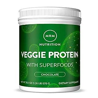MRM Veggie Protein Powder w/Superfood - 1.26 lbs - Chocolate