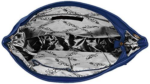 Bolso Blue Royal Pu Mujer Eva Azul Leather Zipper Swankyswans School bandolera Messenger PqYBCxwxS