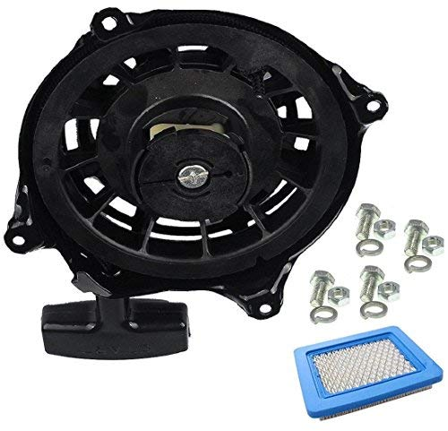 497680 Recoil Starter for Recoil Starter Assembly Briggs and Stratton Starter Parts for Briggs and Stratton Engines Starter for Briggs and Stratton Pull Start Cord Pull Cord Briggs & Stratton 497680, (Briggs And Stratton Lawn Mower Pull Cord)