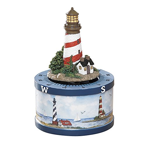 Nautical White Kitchen Lighthouse Timer