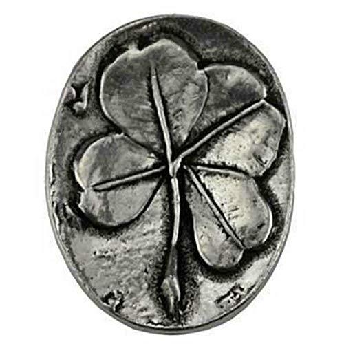 - Anya Nana Four-Leaf Clover Pocket Stone Pewter Amulet Token Give Gift 7/8