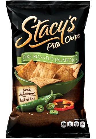 Stacy's Pita Chips Fire Roasted Jalapeno 7.3 oz - 6 Pack by Stacy's