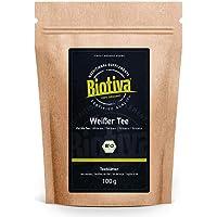 Witte thee Pai Mu Tan bio 100g - handgeplukt - Zacht, geurig en aromatisch - Fairbiotea gecertificeerd - duurzame…